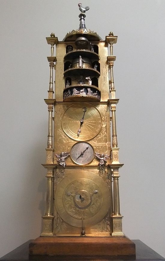 Model of Strasbourg cathedral clock