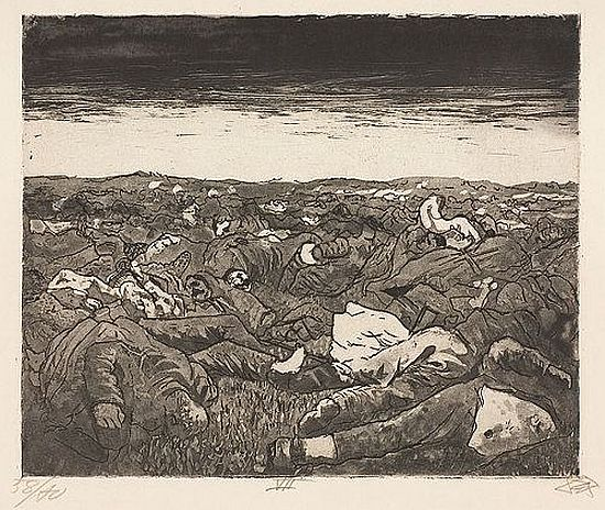 Otto Dix, Evening on the Wijtschaete Plain