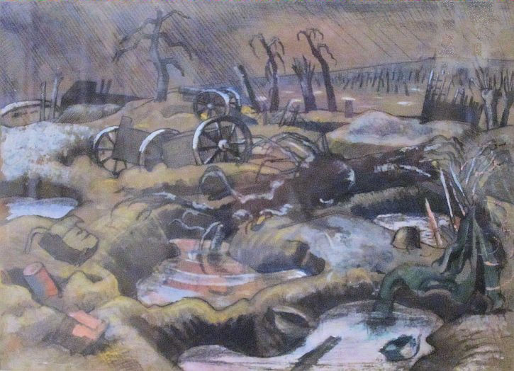 Paul Nash, The Field of Passchendaele 1917