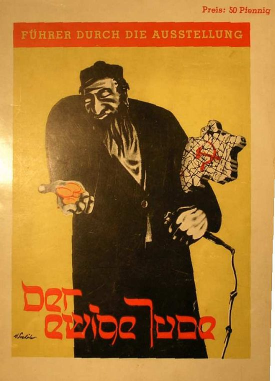 poster for 'The Eternal Jew' exhibition, Dresden 1937