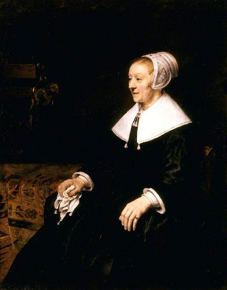 Rembrandt, Portrait of Catrina Hooghsaet, 1657