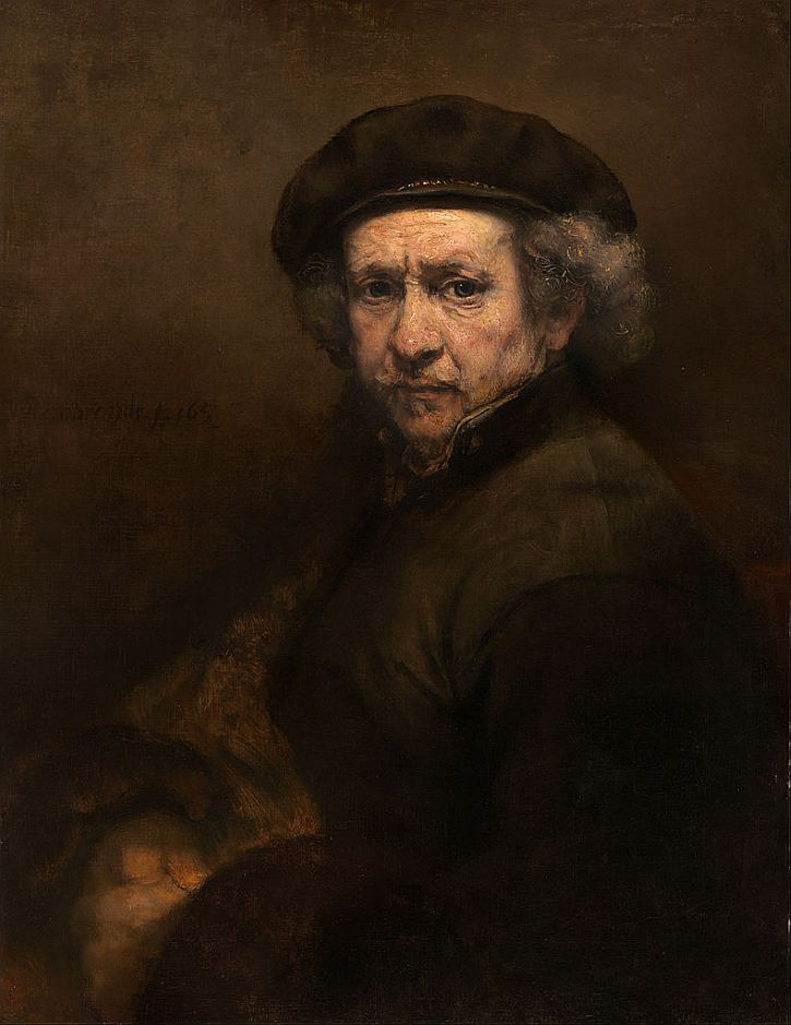 Rembrandt, Self Portrait, 1659