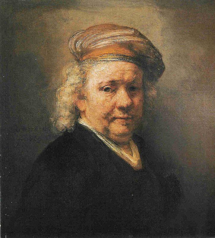 Rembrandt, Self Portrait, 1669 Maurithaus, The Hague