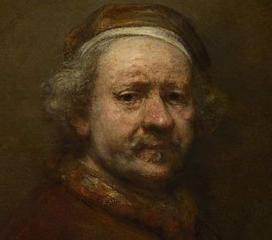 Rembrandt, Self Portrait, 1669 National Gallery, London