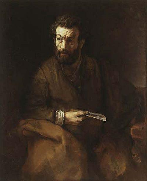 Rembrandt, The Apostle Bartholomew, 1657