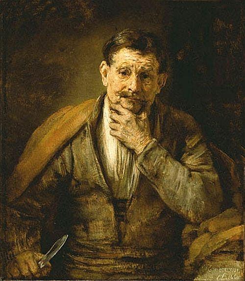 Rembrandt, The Apostle Bartholomew, 1661