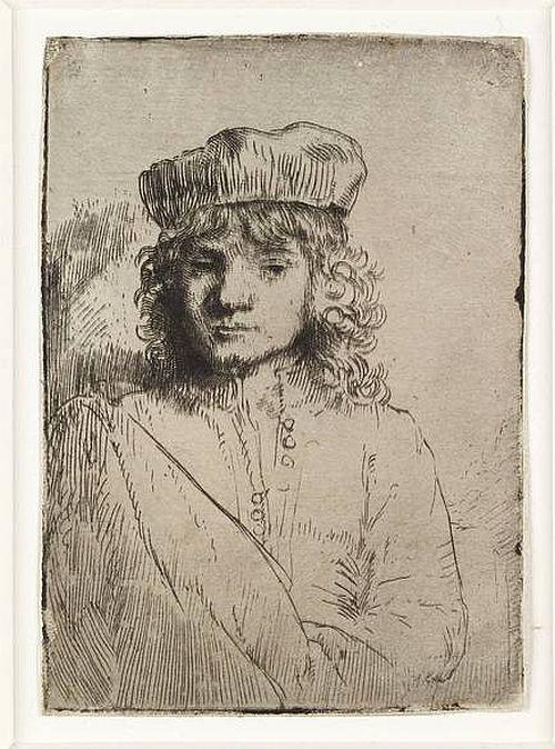 Rembrandt, The Artist's Son, Titus, 1656