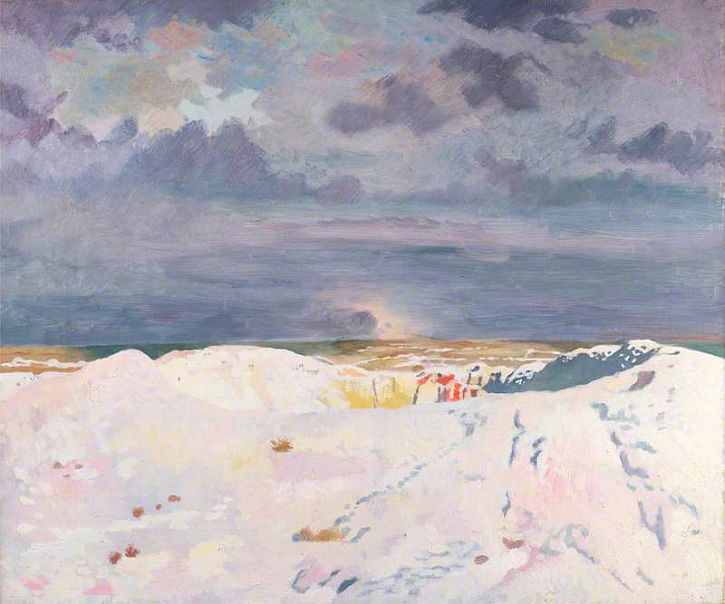 William Orpen, The Great Mine, La Boiselle 1917