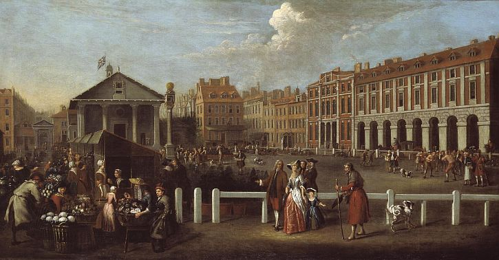 Balthazar Nebot, Covent Garden Market, 1737