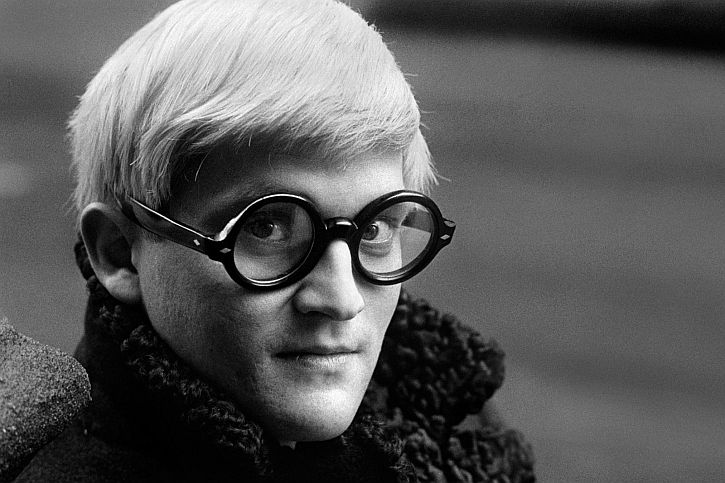 David Hockney by Jane Bown
