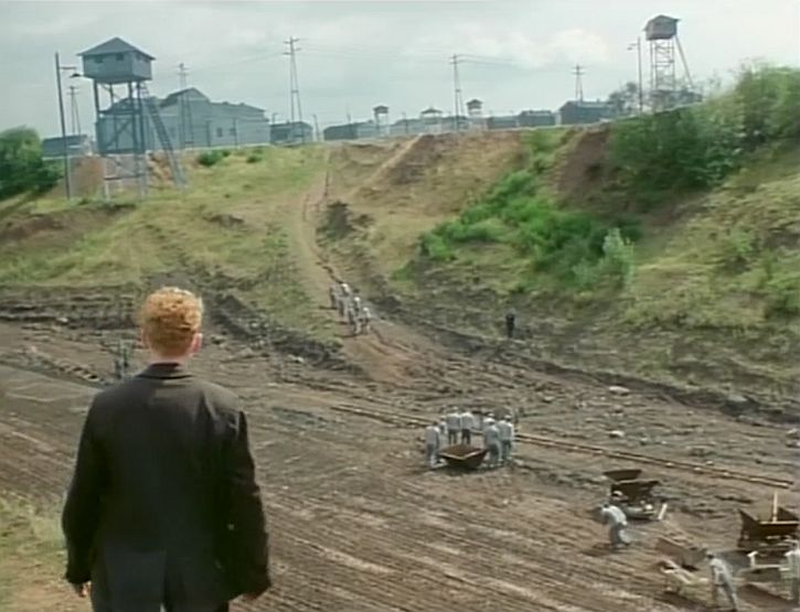 Heimat Hans discovers the forced labour camp