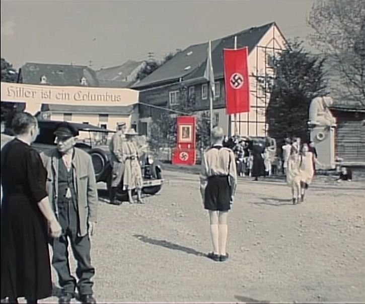 Hitler's birthday celebrated in Schabbach