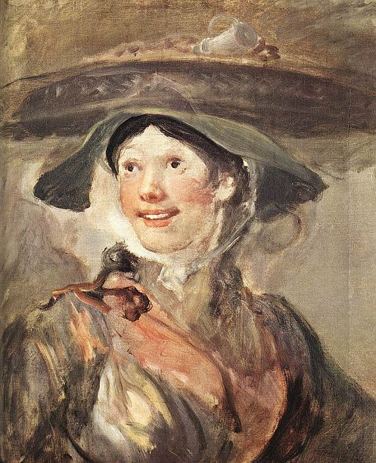 Hogarth, The Shrimp Girl, 1740