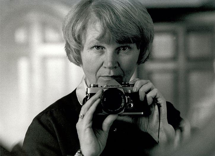 Jane Bown, self-portrait, c1986