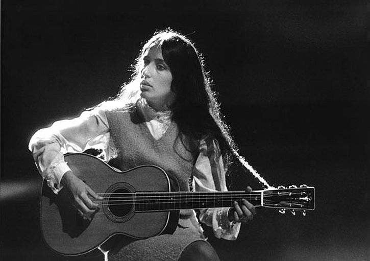 Joan Baez by Jane Bown