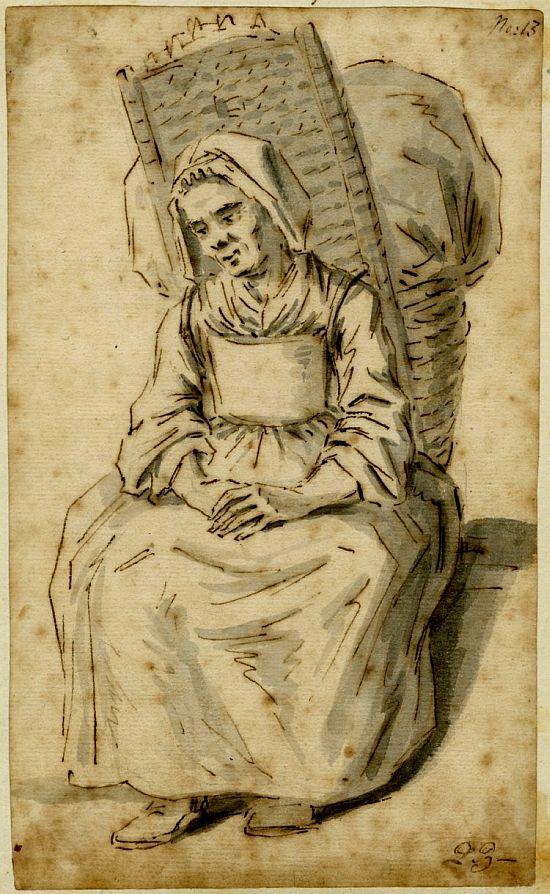 Louis-Philippe Boitard, A Washerwoman