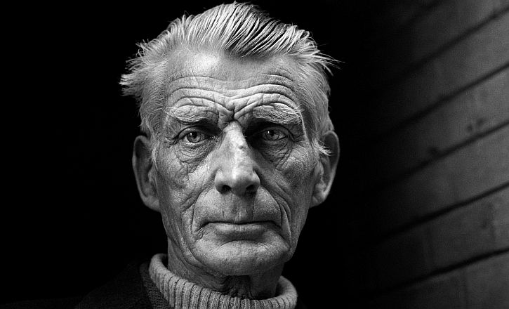 Samuel Beckett, in 1976 by Jane Bown