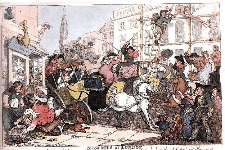 Thomas Rowlandson,  The Miseries of London