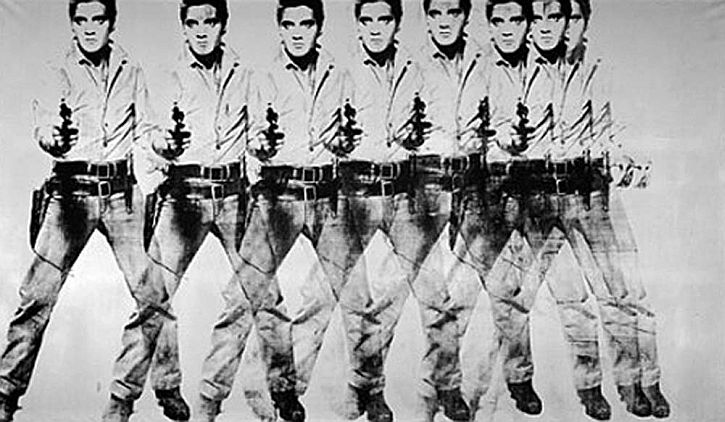 Andy Warhol, Eight Elvises, 1963