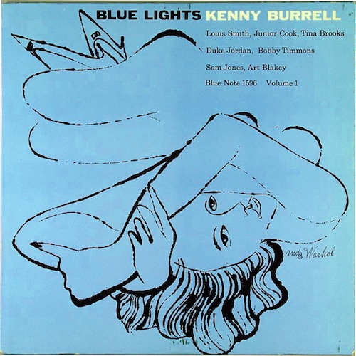 Andy Warhol, Kenny Burrell, Blue Lights Volume 1, 1958