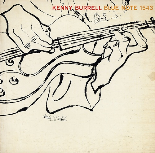 Andy Warhol, Kenny Burrell, Vol. 2, Blue Note, 1957