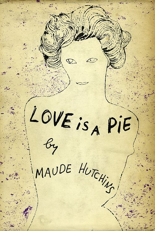 Andy Warhol, Love is a Pie, dust jacket, 1953