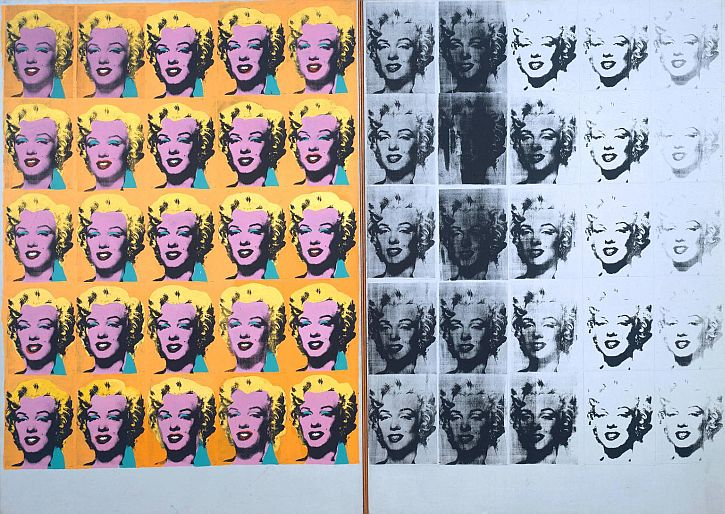 Marilyn Diptych 1962 by Andy Warhol