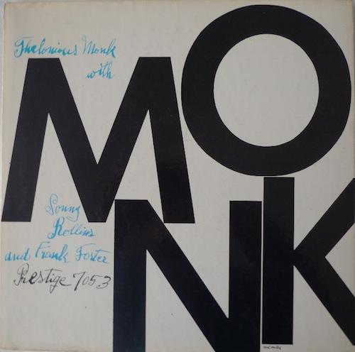 Andy Warhol, Monk, Prestige, 1956