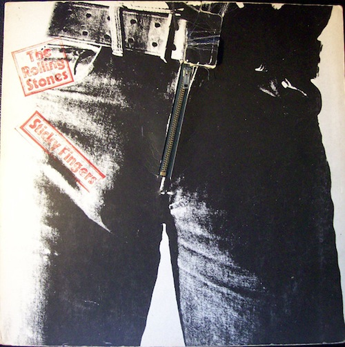 Andy Warhol, Rolling Stones, Sticky Fingers, 1971