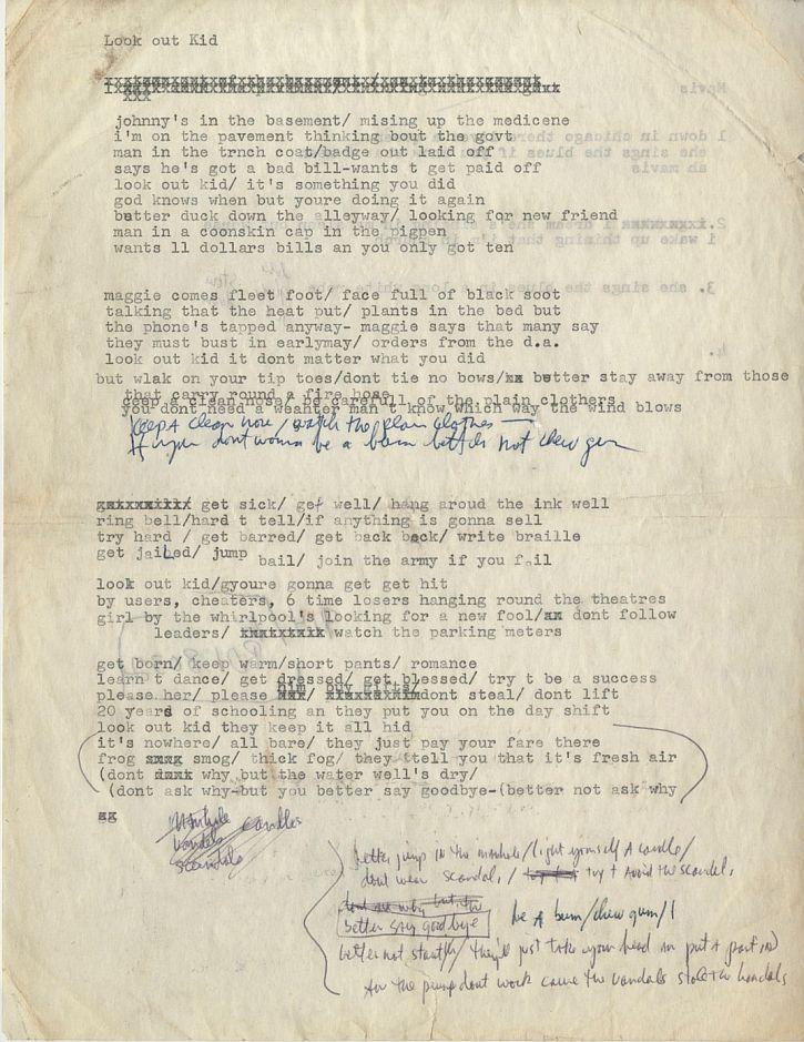 Bob-Dylan-manuscript-subterranean-blues