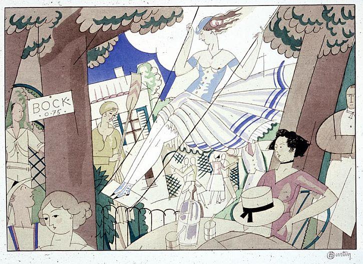 Charles Martin, La balancoire, from Erik Satie and Charles Martin, Sports et divertissements (1914)