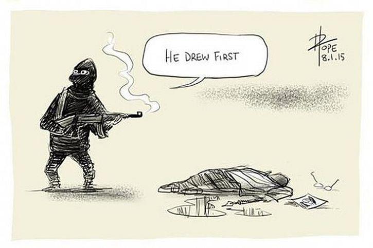 Charlie Hebdo, David Pope, Australia