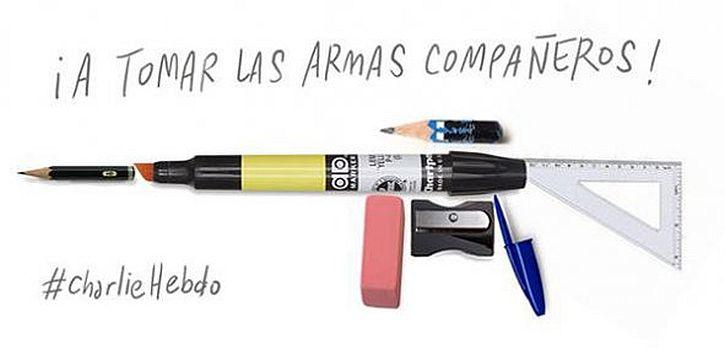 Charlie Hebdo, Francisco J. Olea, Chile