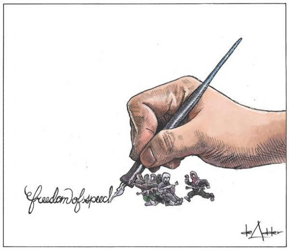 Charlie Hebdo, Michael Adder Halifax Daily News Canada
