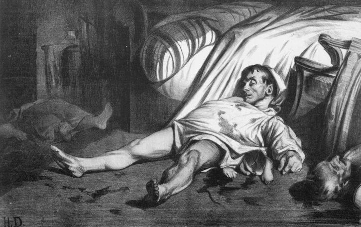 Daumier, Rue Transnonain, le 15 avril, 1834