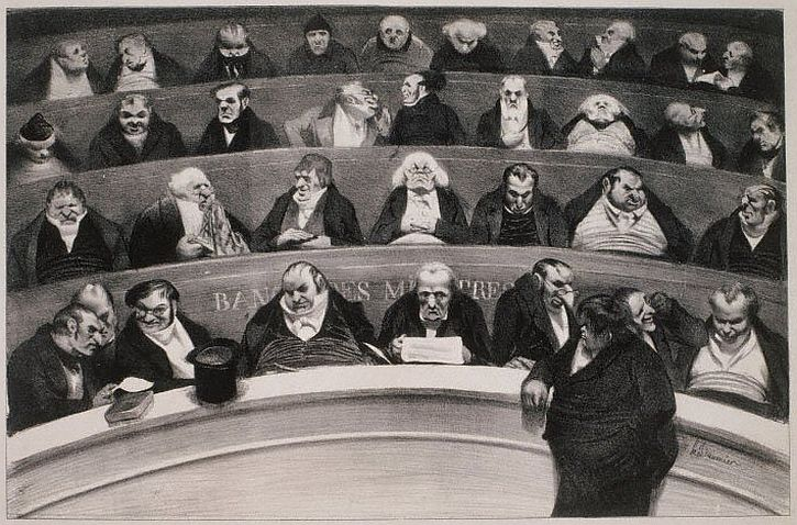 Daumier, The Legislative Belly, 1834