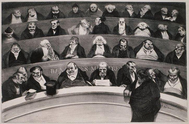 Daumier, The Legislative Belly, 1834
