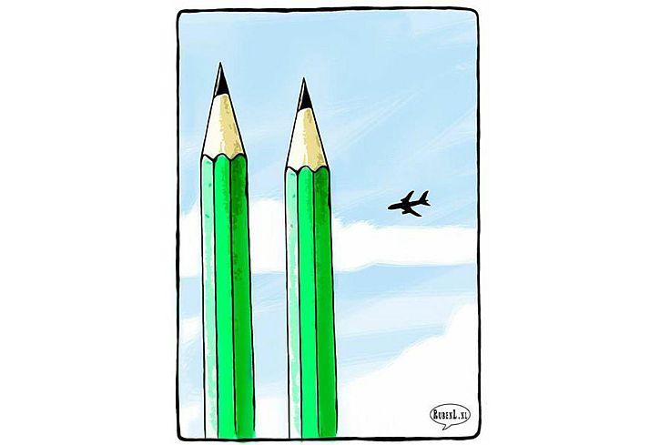 Dutch cartoonist Ruben Oppenheimer