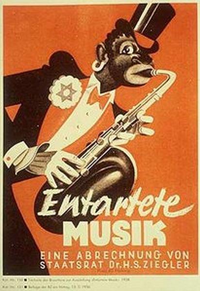 Entartete Musik poster