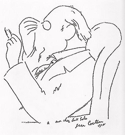 Erik Satie par Jean Cocteau