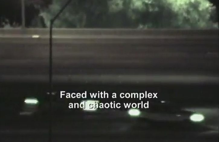 Faced with a complex and chaotic world