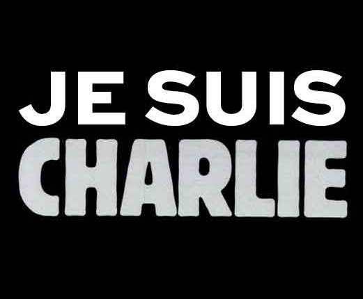 Je Suis Charlie parce que l'amour plus fort que lahaine
