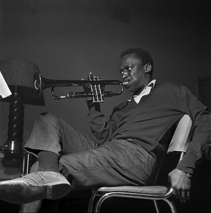 Miles Davis by Francis Wolff 2