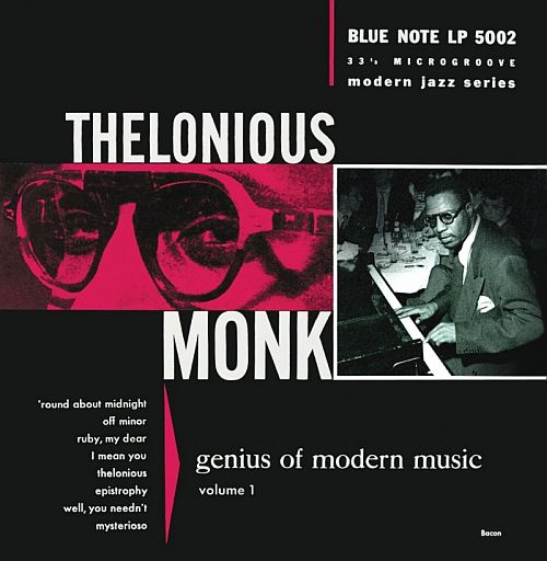 Monk Genius of Modern Music Vol 1