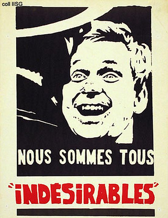 Nous Sommes Tous Indesirables