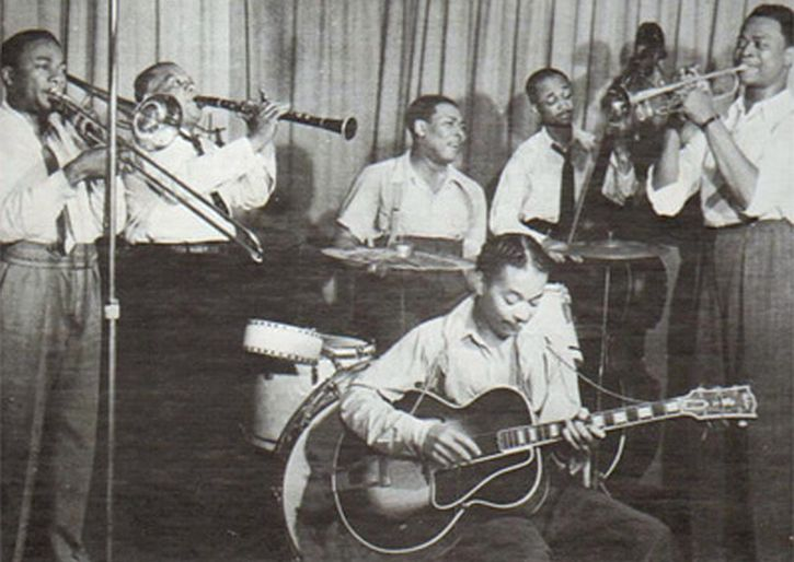 Port of Harlem Jazzmen recording on 8 June 1939