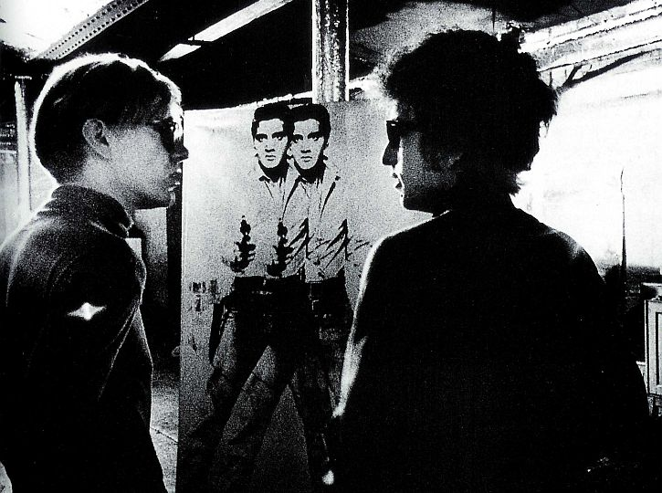 Warhol and Dylan