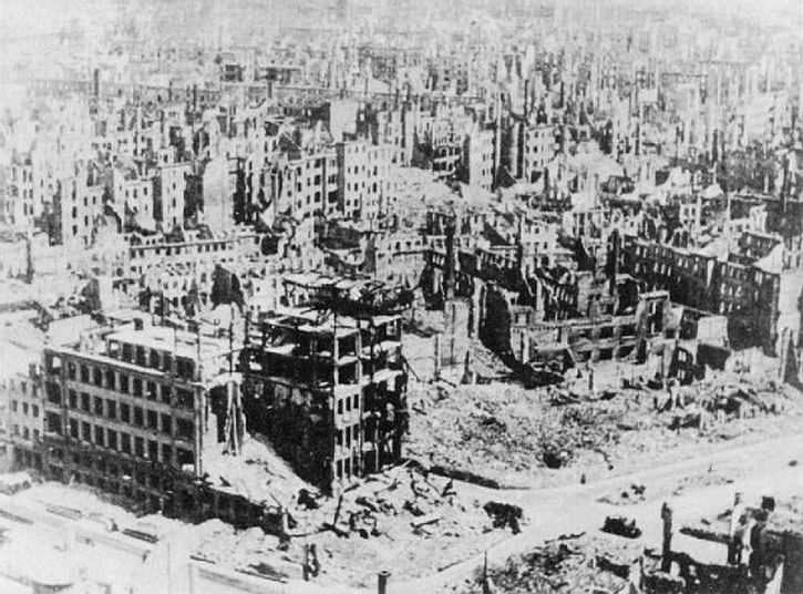 Dresden after the firestorm