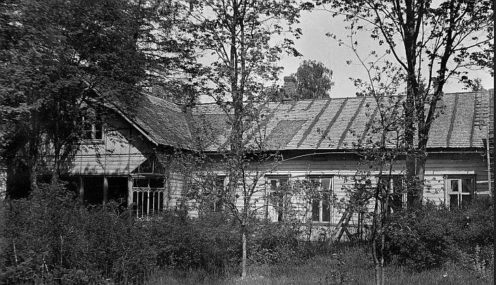 Edith Sodergran's house in Raivola
