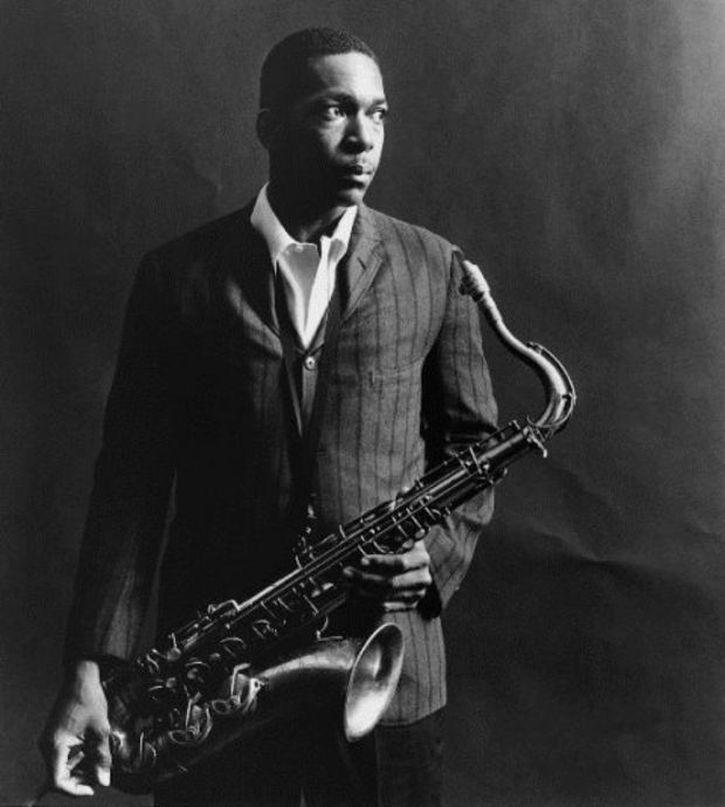 John Coltrane photographed by Chuck Stewart